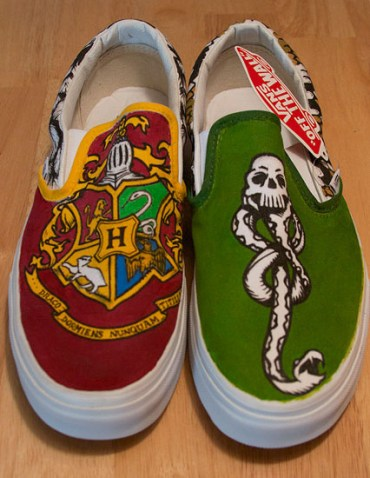 7 Increíbles Vans diseñadas por fans de Harry Potter (mientras esperamos las oficiales)