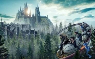 Sobrevuela el Bosque Prohibido junto a Hagrid: nueva montaña rusa