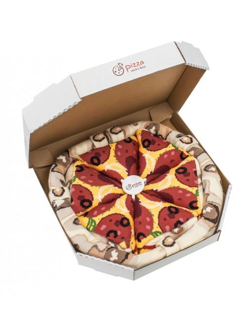 pizza-socks-box-pepperoni-damska Zabawne prezenty dla niego i dla niej