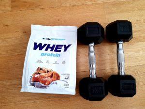 Test odżywki białkowej AllNutrition
