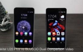 Bluboo Dual vs Oukitel U20 Plus, una comparazione video tra i due device