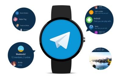 telegram android wear