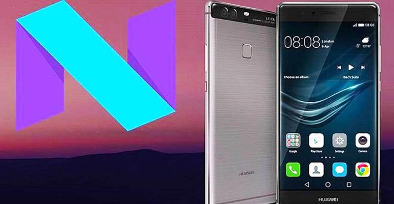 Aggiornamento Android Nougat Huawei P9 Plus