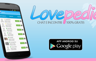 lovepedia chat e incontri gratis