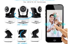 Recensione e codice sconto videocamera wireless KKmoon