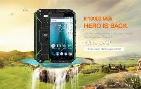 OUKITEL K10000 MAX: gettato nella vernice in un nuovo test da non perdere!