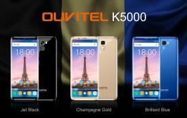 OUKITEL K5000 disponibile dal 24 Ottobre al prezzo di 149.99 dollari
