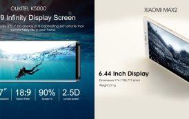 OUKITEL K5000 sfida Xiaomi Mi Max 2! Chi la spunta?
