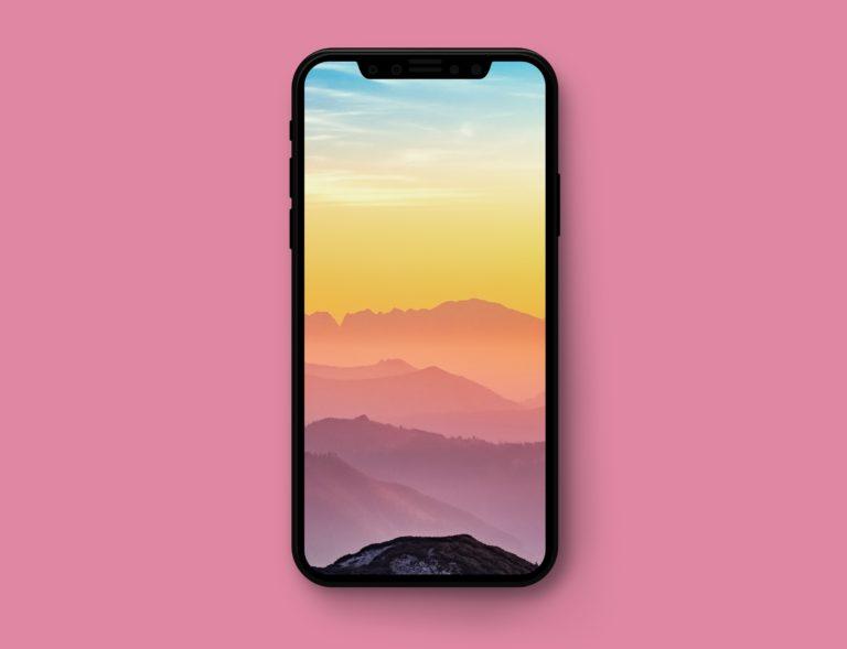 Wallpaper iPhone X: un nuovo bellissimo pacchetto