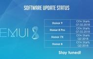 Honor 8 e 7X riceveranno la EMUI 8.0 con Android Oreo 8.0! Ufficiale, ecco tutti i dettagli