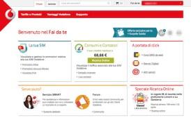 Come verificare credito residuo Vodafone utilizzando l'area Fai da te