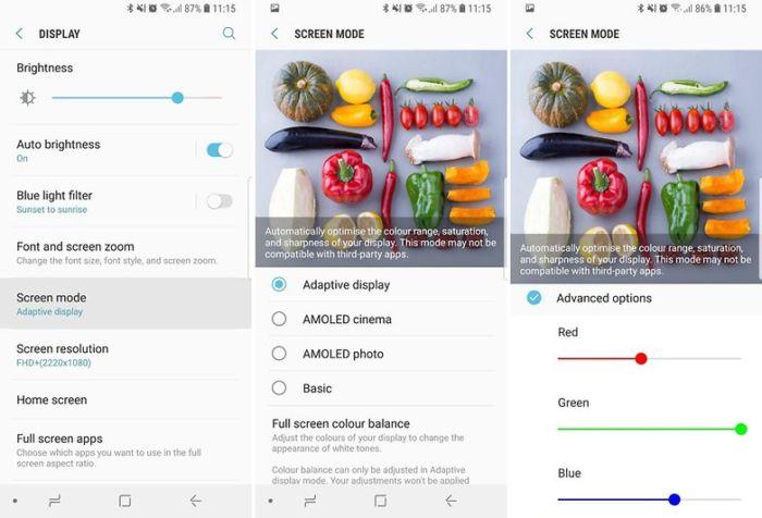 Come ottimizzare il display su Samsung Galaxy S9 e S9 Plus