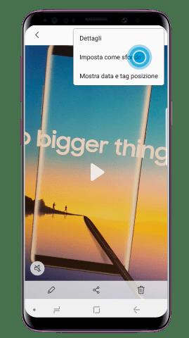 Come impostare un video come sfondo del proprio Galaxy S9