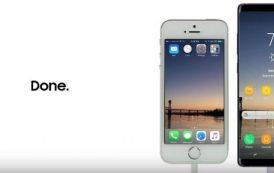 Come trasferire i contenuti da iPhone a Samsung Galaxy Note 8 - filmato da non perdere -