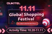 OUKITEL i suoi super dispositivi battery phone offre al 50% in occasione del festival 11.11