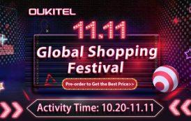 OUKITEL i suoi super dispositivi battery phone offre al 50% in occasione del festival 11.11