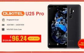 OUKITEL U25 Pro: variante twilight con memoria RAM di 4GB e 64GB di storage venduta a soli 96,24 dollari