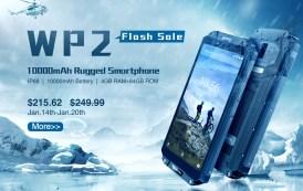 OUKITEL WP2 scende di prezzo a soli $ 216,52, smartphone da 10000 mAh di batteria ed estremamente robusto