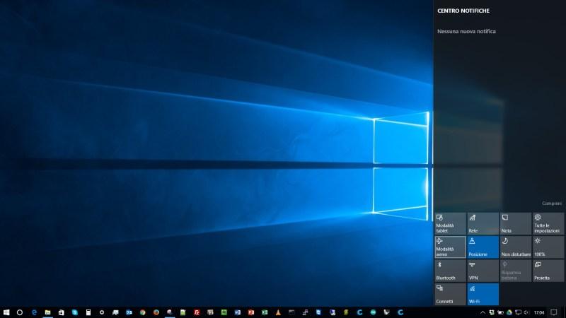 Come non ricevere più nessuna notifica su Windows 10