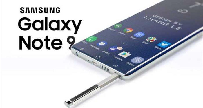 batteria del Samsung Galaxy Note 9