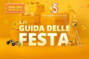 GearBest festeggia il 5° anniversario: POCO F1 a 49€, Mi Band 3 a 4.94€ e molto altro a prezzi stracciati