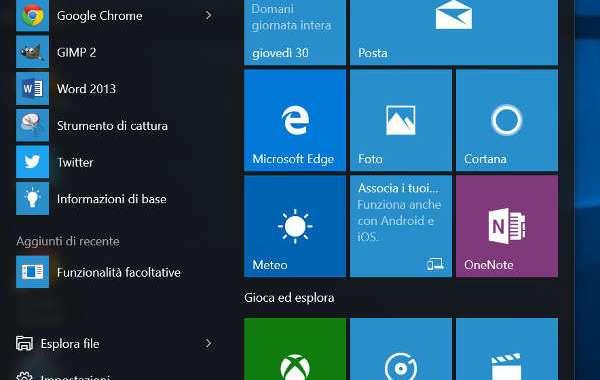 Come personalizzare l'avvio su Windows 10