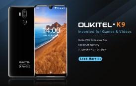 OUKITEL K9 mostra le sue doti in un filmato, anche nel gaming