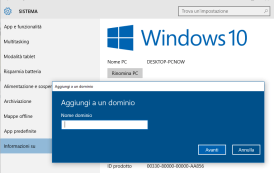 Come cambiare il nome del proprio computer in Windows 10