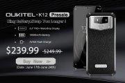 OUKITEL K12: al via ufficialmente la vendita con batteria da 10.000 mAh e ricarica rapida a 30 watt