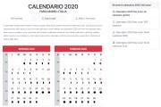 Calendario 2020, scopriamo eventi in programma, cos'è e tutto ciò che c'è da sapere a riguardo