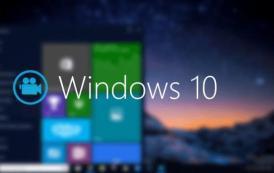 Come registrare il display senza programmi su Windows 10