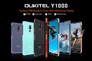 OUKITEL pronta a rilasciare un nuovo smartphone sportivo robusto Y1000 con display Waterdrop