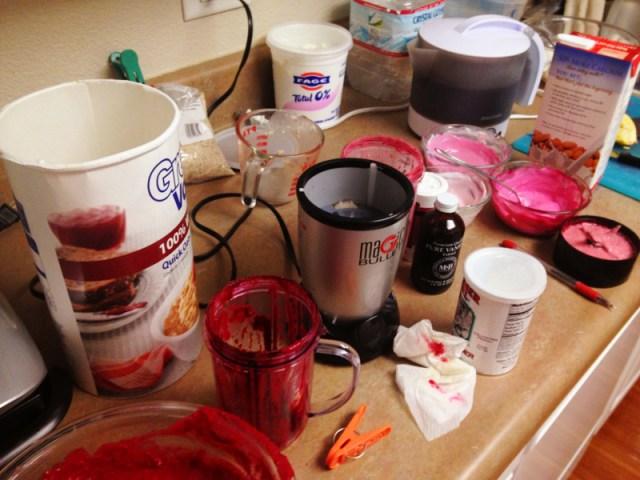 red velvet mess