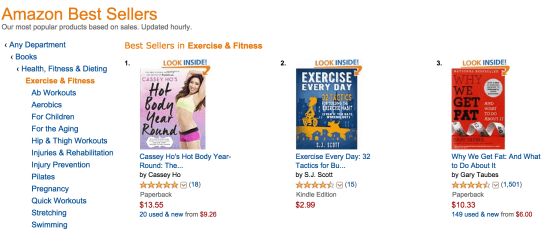 #1 in exercise