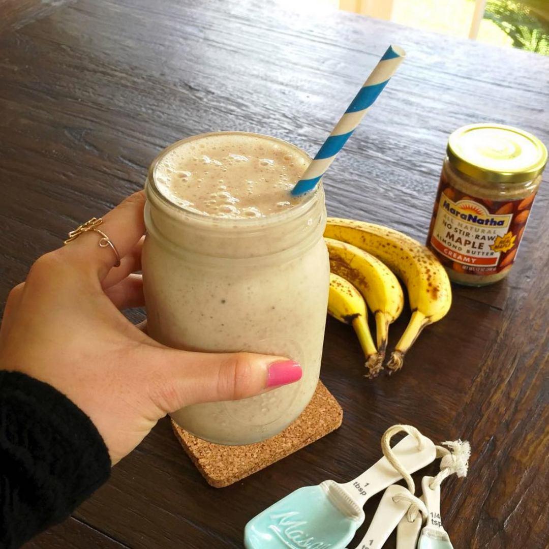 pb banana shake