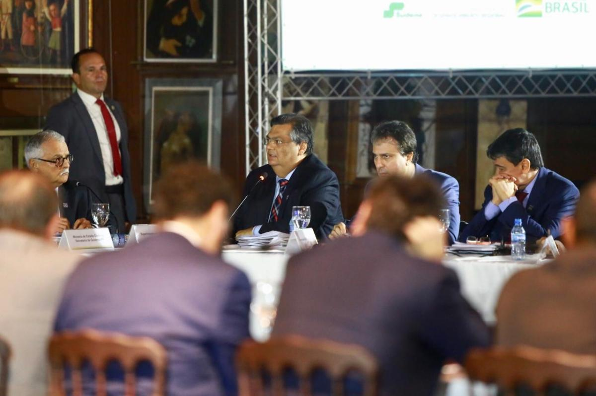 Flávio Dino pede empenho da União no financiamento de projetos para o Nordeste