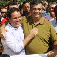 Flávio Dino e Edivaldo deverão ser os principais cabos eleitorais na sucessão da capital