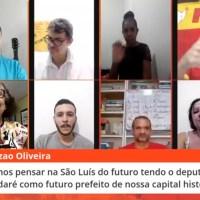 Plenária Popular Virtual relança movimento de pré-candidatura de Bira a prefeito de São Luís