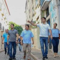 """Rubens elogia obras da Prefeitura em andamento: """"quero continuar"""""""