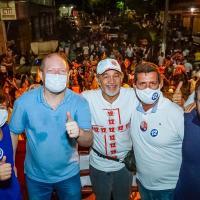 Othelino reforça campanha de Antonio Diniz em Bequimão