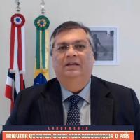 Flávio Dino diz que vai processar Bolsonaro por piada preconceituosa e propaganda política com dinheiro público