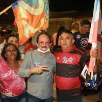 Em Ribamar, atos de campanha de Julinho são inflados por forasteiros
