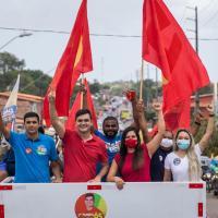 Maior carreata do domingo foi a volta de Rubens prefeito