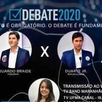 Candidatos apresentam atestado negativo para Covid-19 e confirmam participação no debate da Band