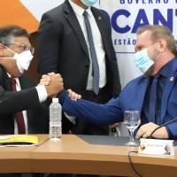 Maranhão e Tocantins firmam cooperação e debatem projeto de Integração Geopolítica Interestadual