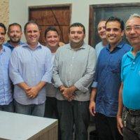 Edivaldo Holanda Junior visita lideranças do Baixo Parnaíba