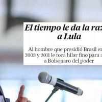 Editorial do jornal espanhol El País: O tempo prova que Lula está certo