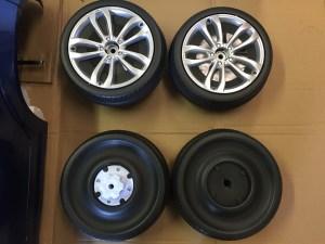 BMW X6 roues et jantes