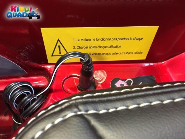 recharger batterie audi Q7 électrique enfant
