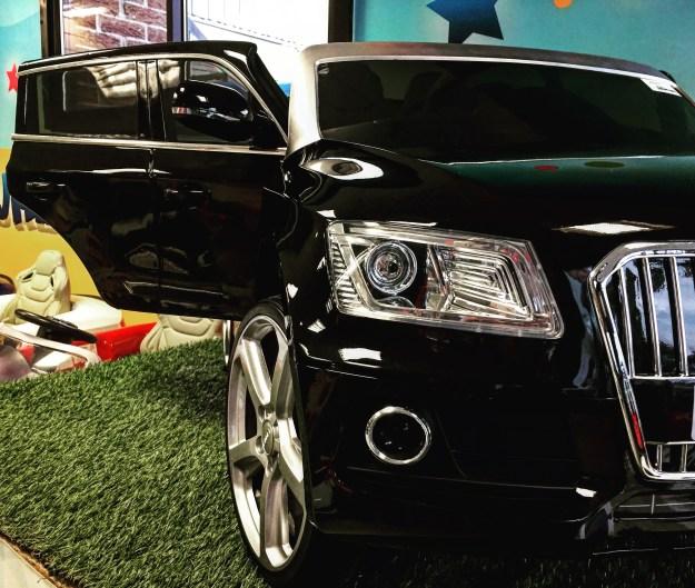 voiture électrique pour enfant sous licence Audi